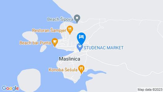 Villa Mikula Map