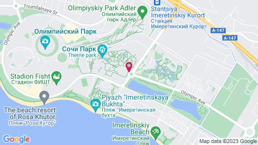 Sochi Park® Bogatyr Hotel Map