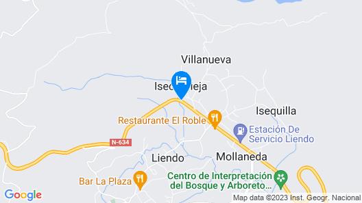 Hotel Valle de Liendo Map