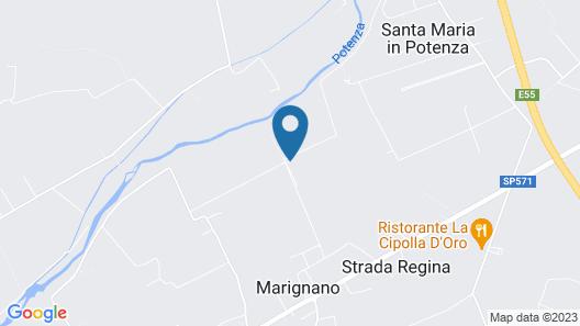 B&B Centro Ippico Andrea Map