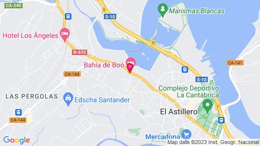 Apartamentos Turísticos Bahía de Boó Map