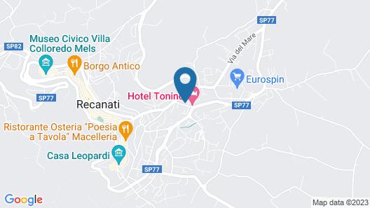 Albergo Ristorante Pizzeria Tonino Map