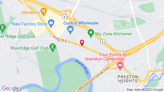 Embassy Motel Map