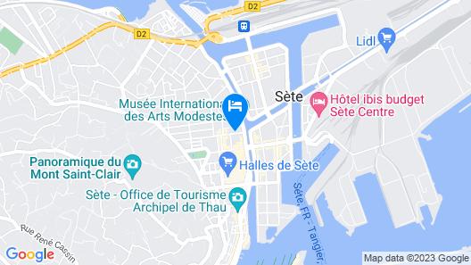 Georges Hostel & Café Map