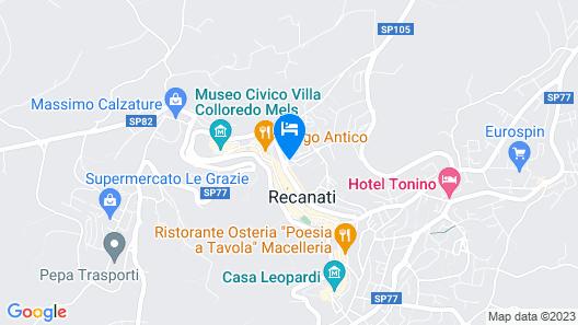 Affittacamere Map