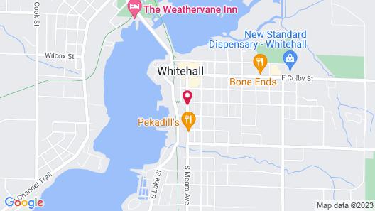 White Swan Inn Bed & Breakfast Map