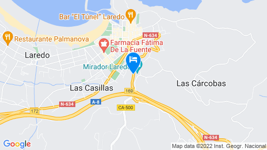 Hotel Gastronómico Risco Cantabria Experience Map