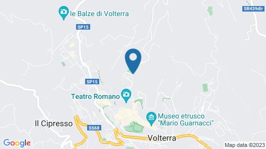Borgo Gatteraia Map