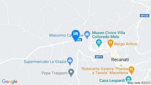 La Casetta del Muratore Map