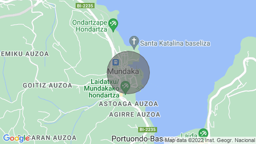 Apartment in the authentic heart of Mundaka Map
