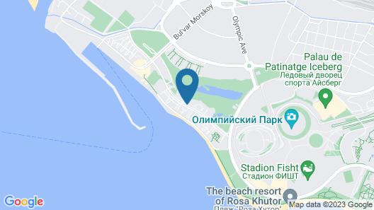 Apart-hotel Imeretinskiy - Marine Bay complex Map