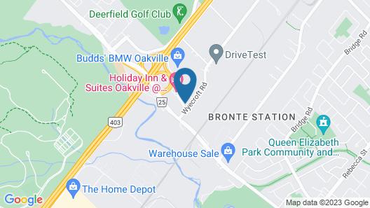 Staybridge Suites Oakville, an IHG Hotel Map