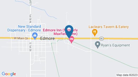 Maxfields Inn Map