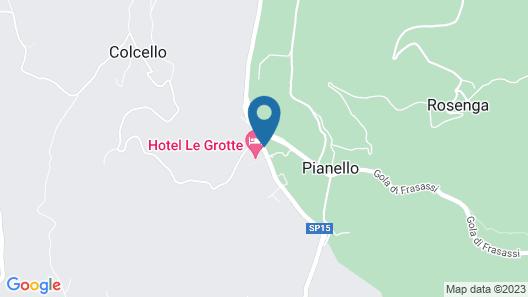 Hotel Le Grotte Map