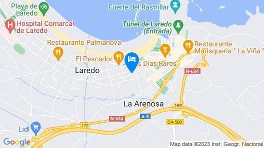 Hotel Montecristo Map