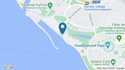 Radisson Blu Resort & Congress Centre, Sochi Map