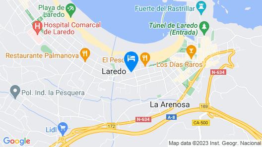 Hotel Cosmopol Map