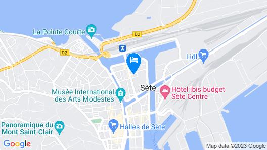 Hôtel Le National Map