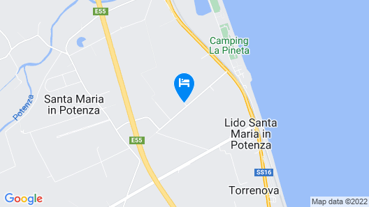 Casa Tua Spa Resort Map