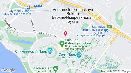 Apartment on Kamyshovaya 41, apt 19 Map