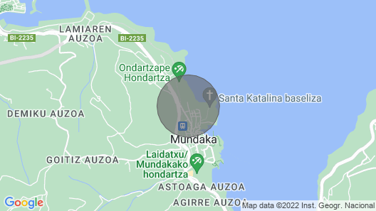 MUNDAKA HOME E-BI 260, With Good Access, Kitchen / Lounge / 2Hab. WIFI, PARKING. Map