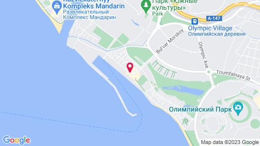 Imeretinskiy Hotel Map