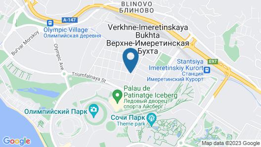 Blue Marine Hotel Map