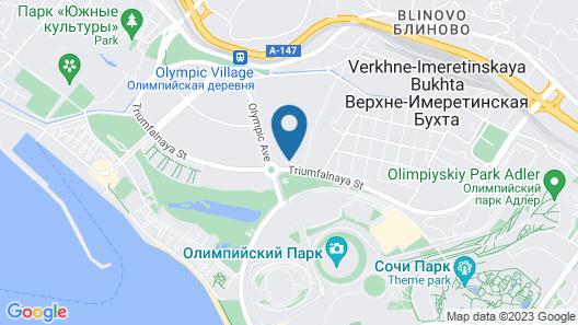 Omega Sirius Map