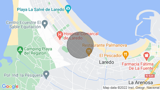 Quiet and Family Apartment in the North of Spain Map