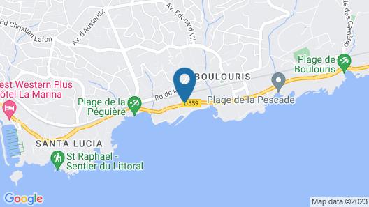 La Villa Mauresque Map