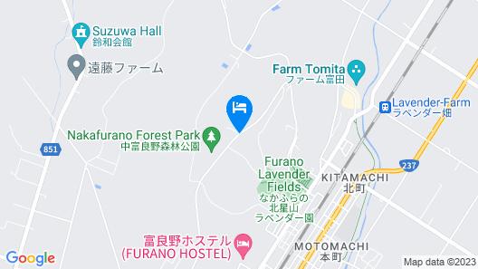 Nakafurano Sanso Hotel Map