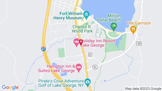 Holiday Inn Lake George Turf, an IHG Hotel Map