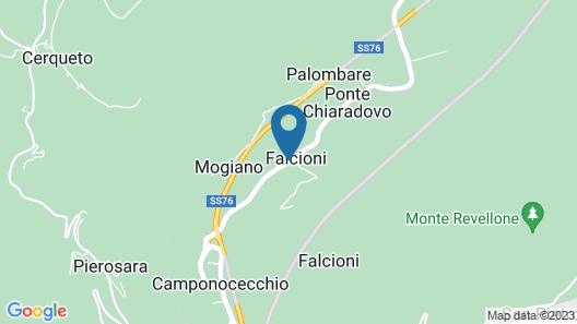 Il Pastore Errante Frasassi Map