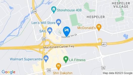 Comfort Inn Cambridge Map
