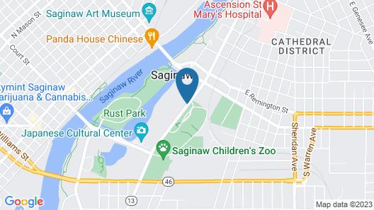 Montague Inn Map
