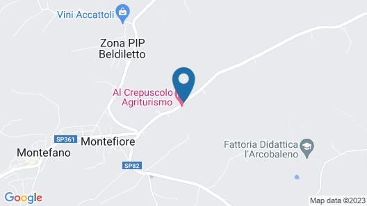 Al Crepuscolo Agriturismo Map