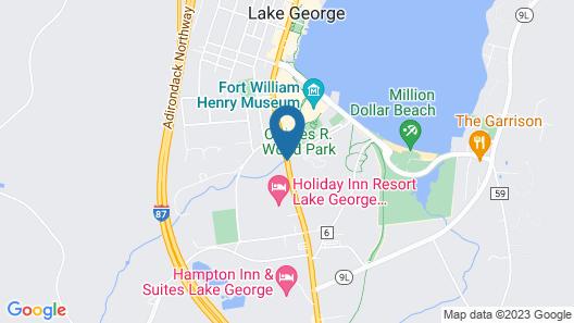 Lake View Inn Map
