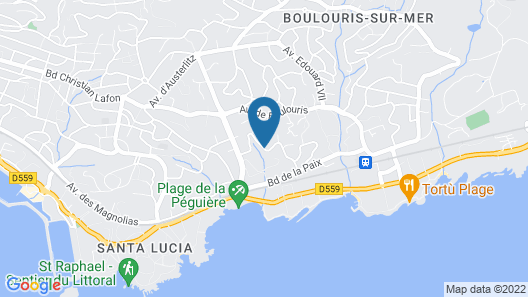 Villa Gecko Map