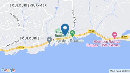 Hôtel Soleil Vacances Riviera Map