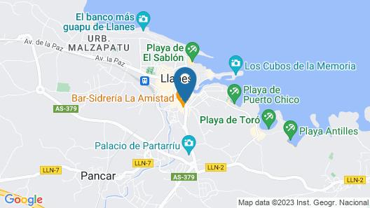 Gran Hotel Paraiso Map