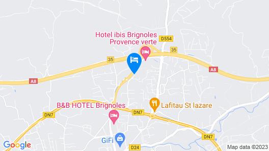 ibis budget Brignoles Provence Verte Map