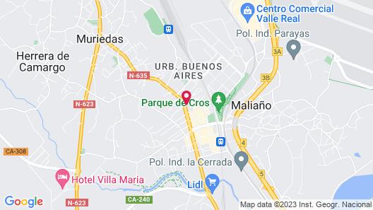 Hotel Nueva Plaza Map
