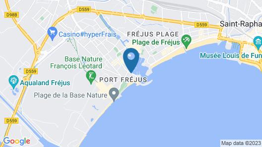 Appartement Cap Hermès Map