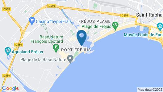 Pierre & Vacances Cap Hermes Map