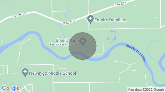 River Ridge on the Muskegon River Map