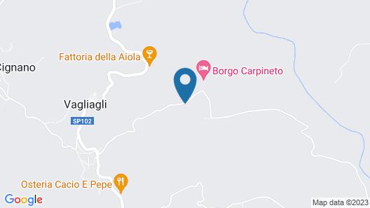 Dievole Wine Resort Map
