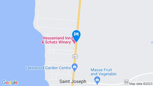 Hessenland Country Inn Map
