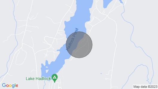 Beautiful Lake Front House Map