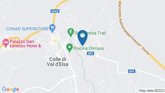 Relais Della Rovere Map