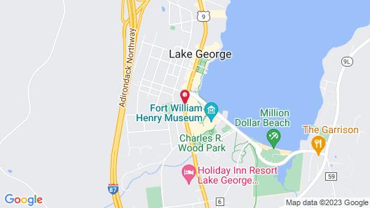 Howard Johnson by Wyndham Lake George Map